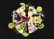 各种美味水果创意组合图片
