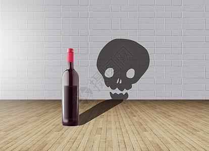 饮酒伤身图片