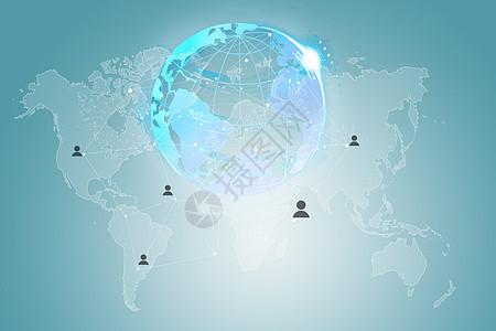 科技互联网连接图片