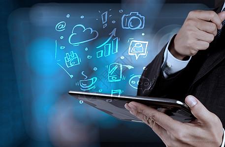 现代商务科技图片