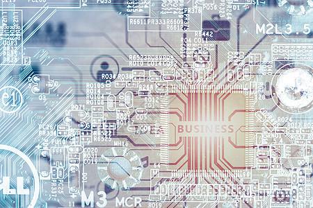 电路板与科技图片