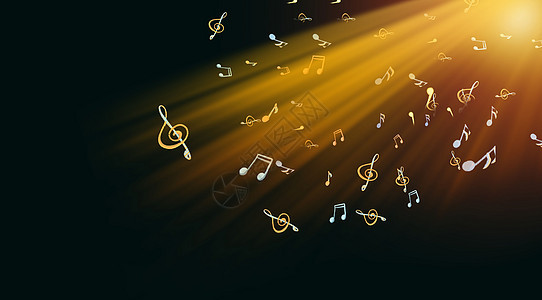 音乐炫光背景图片