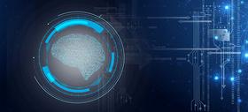 科技电路大脑图片