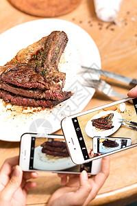 牛排大餐图片