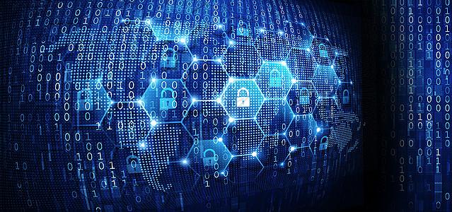 网络安全背景图片