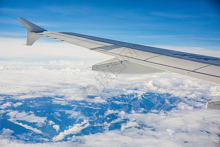 飞行在青藏高原图片