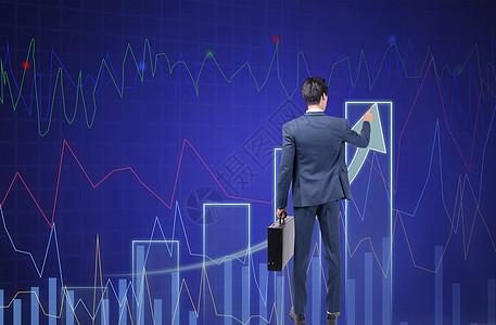 黑板墙上的数据图片