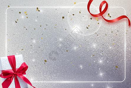 节日礼盒背景图片
