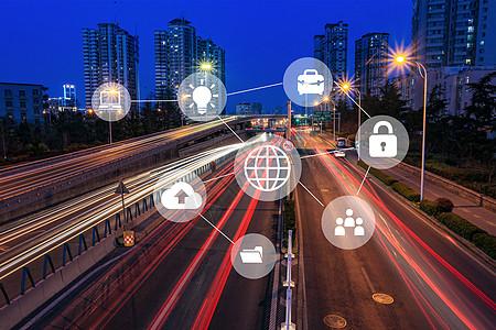 城市网络信息图片