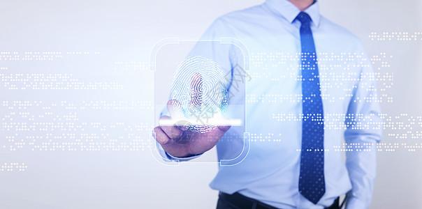 指纹科技图片