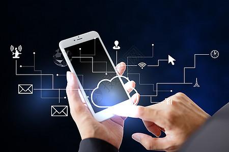 商务手机科技图片