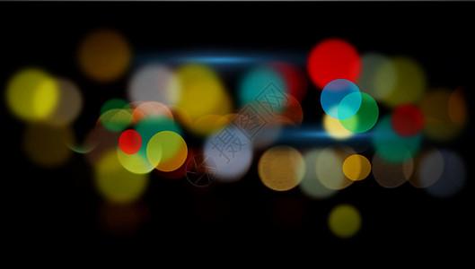 彩色光晕背景图片