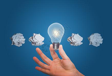 伟大商业理念的概念图片