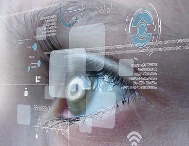 眼睛科技图片