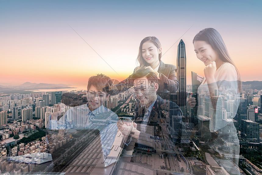 商务人士背景图图片