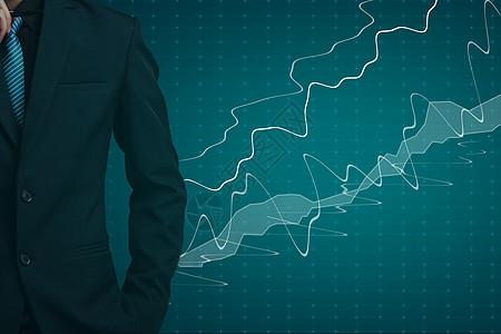 股票背景图片