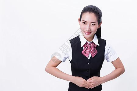商务职业自信美女客服图片