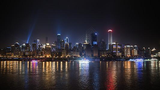 涪陵江上重庆夜景图片