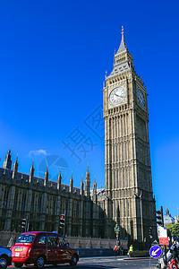 英国伦敦大本钟街景图片