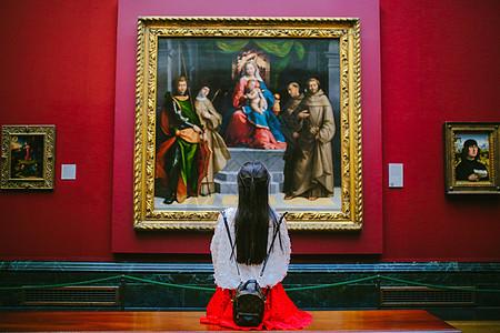 英国伦敦国家美术馆图片