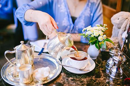 英国约克贝蒂下午茶图片