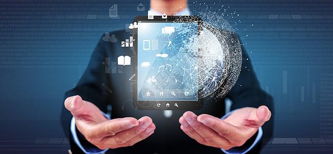 商务科技电子图片