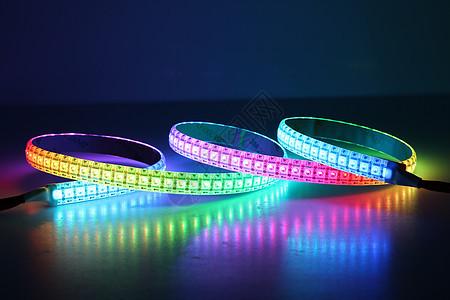 LED彩色灯带图片
