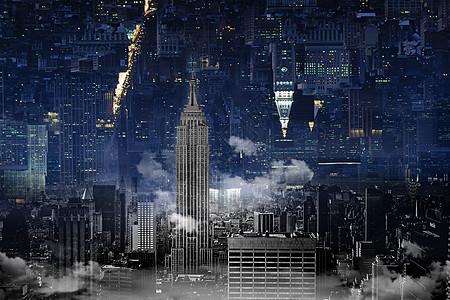超现实城市图片
