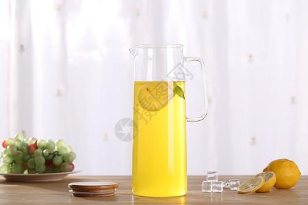 玻璃茶壶图片