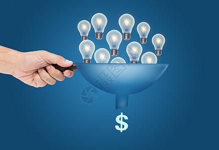 很多想法都在资金流动中流动图片