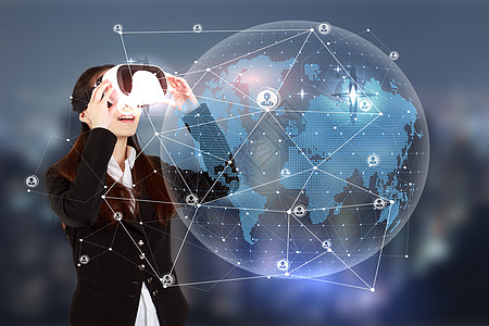 商务VR科技图片