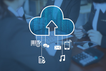 云计算大数据商务办公图片