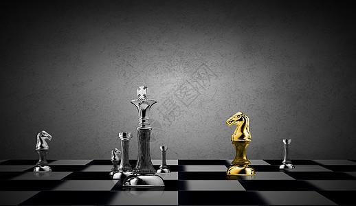 棋盘之策略概念图图片