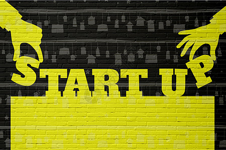 start up图片