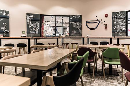 商场店铺奶茶店桌椅图片