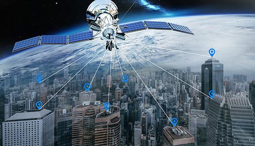 卫星定位图片