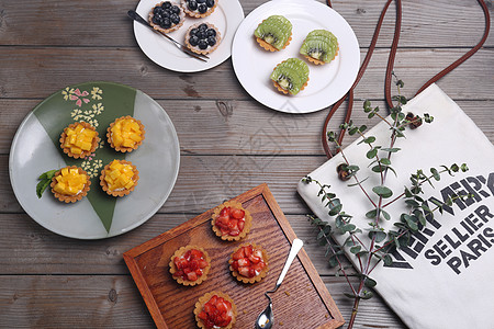 夏日甜品下午茶图片