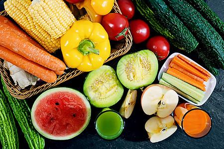 新鲜蔬菜水果图片