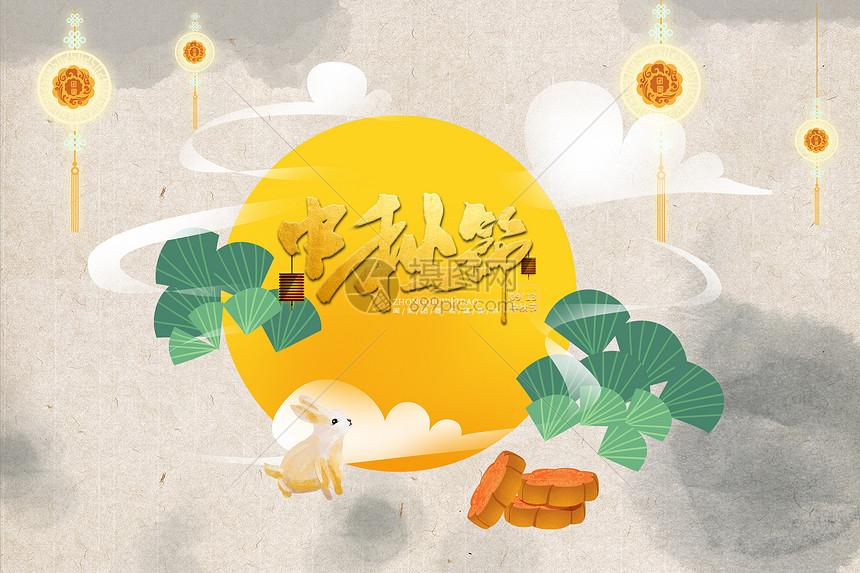佳节海报中秋节背景图片免费下载佳节团圆中国风背景中秋节中国风海报
