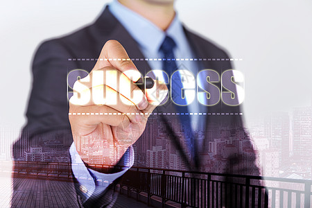 成功商务人士图片