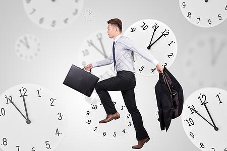 时钟与成功人士图片