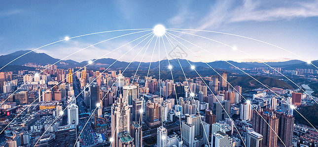 城市科技图图片