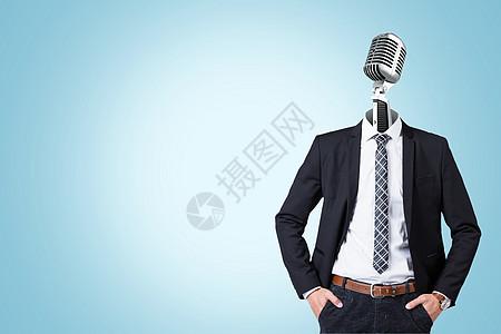男子商务形象图片