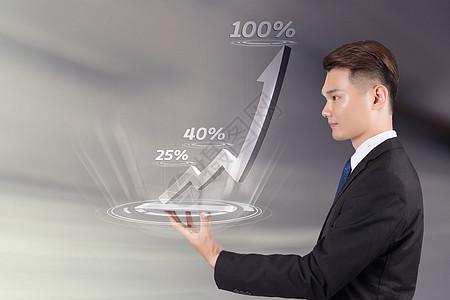 科技商务数据图片