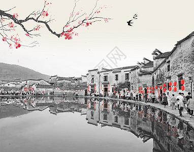 中国风建筑古典图图片