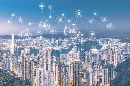 微信下的科技城市图片