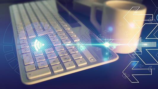键盘网络科技图片
