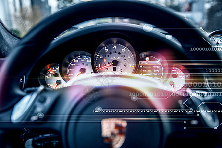 汽车方向盘背景图片