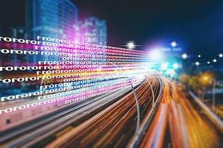 城市大数据流动科技图片