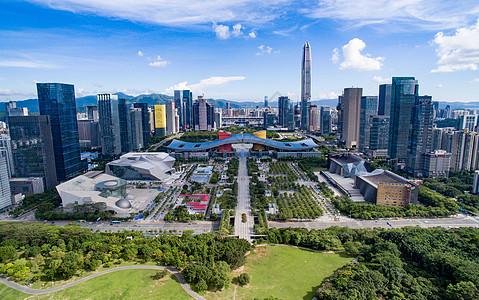 深圳市民中心大全景图片